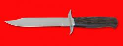 """Нож """"НР-40"""", клинок порошковая сталь ELMAX, рукоять венге"""