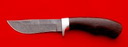 """Охотничий нож """"Филин"""", клинок дамасская сталь, рукоять венге"""