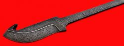 """Клинок для ножа """"Скиннер-2"""", клинок дамасская сталь"""