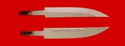 """Клинок для ножа """"Якутский большой"""", сталь 95Х18"""