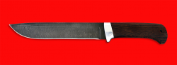 """Нож """"Полярник"""", клинок дамасская сталь, рукоять венге"""