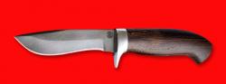 """Охотничий нож """"Вальдшнеп-2"""", клинок сталь D2, рукоять венге"""
